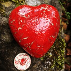Urnen Urn hart small 132