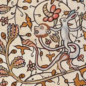 Middeleeuws miniatuur schilderen 664