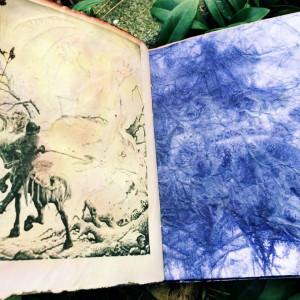 "Boekjes ""Monnikenwerk"" Journal Blue night's 268"