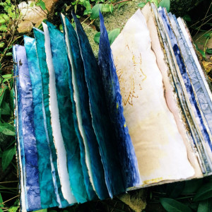 "Boekjes ""Monnikenwerk"" Journal Blue night's 269"
