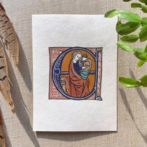 Middeleeuws miniatuur schilderen