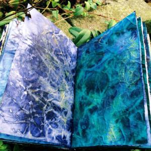 "Boekjes ""Monnikenwerk"" Journal Blue night's 270"