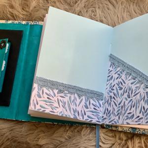 """Boekjes """"Monnikenwerk"""" Paint drops journal 90"""