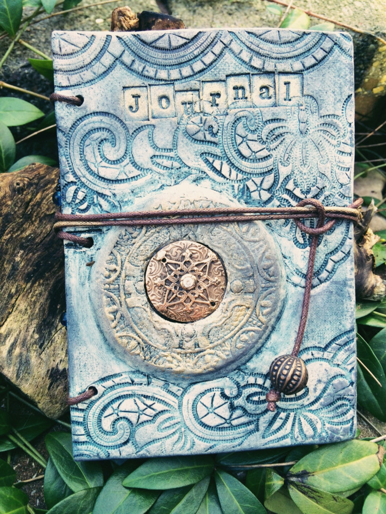 "Boekjes ""Monnikenwerk"" Journal Blue night's"