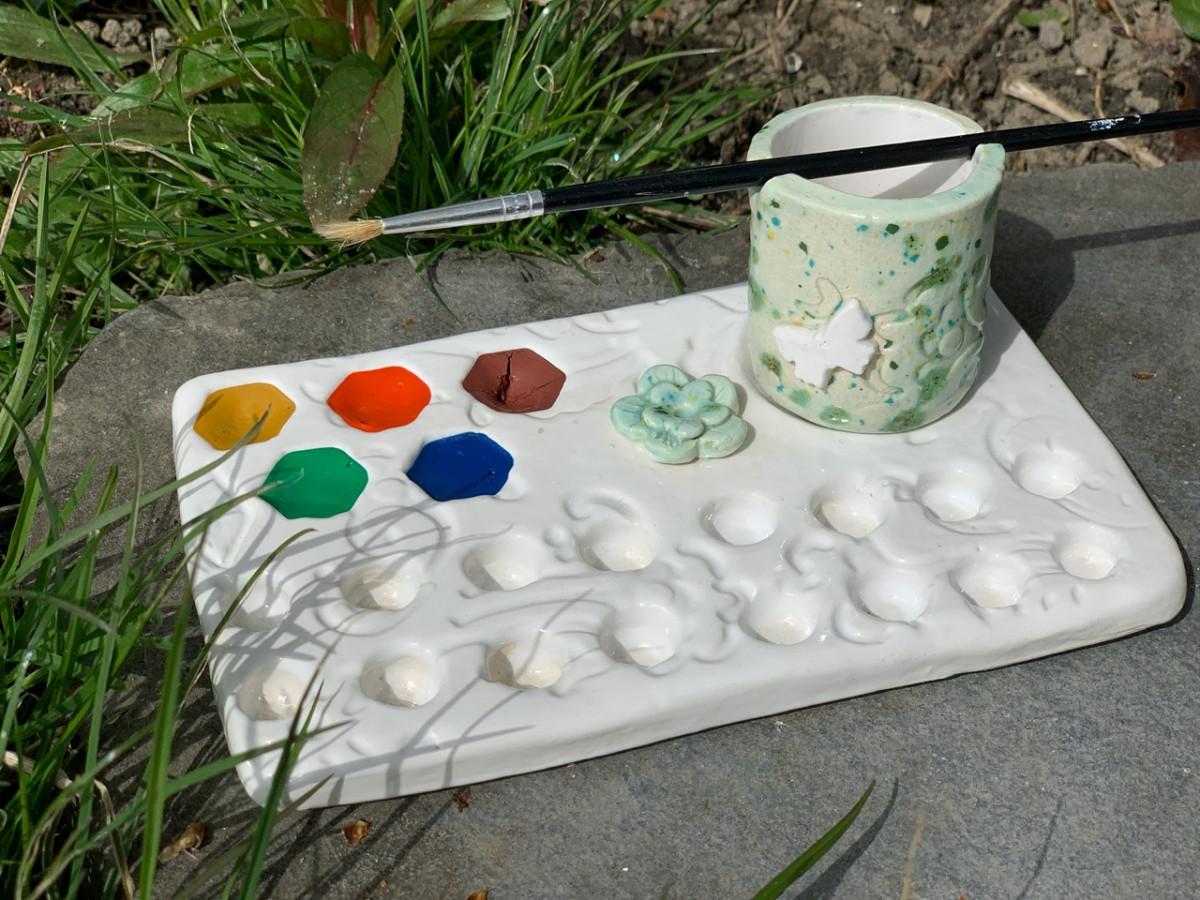 Verf & Inkt Palet set met aquarelverf