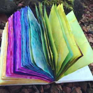 Maak je eigen papier en boek 558